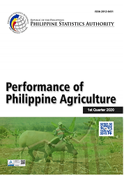 Performance of Philippine Agriculture 2020 Q1