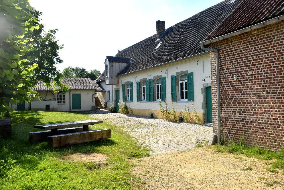 Moulin de la Pede à Sint-Gertrudis-Pede - Maison du meunier et meunerie