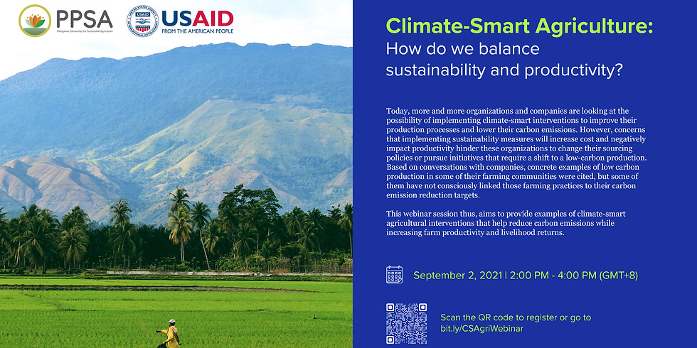Climate-Smart Agriculture: How do we balance sustainability and productivity?