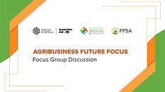 Agribusiness Future Focus-Focus Group Discussion