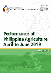 Performance of Philippine Agriculture 2019 Q2
