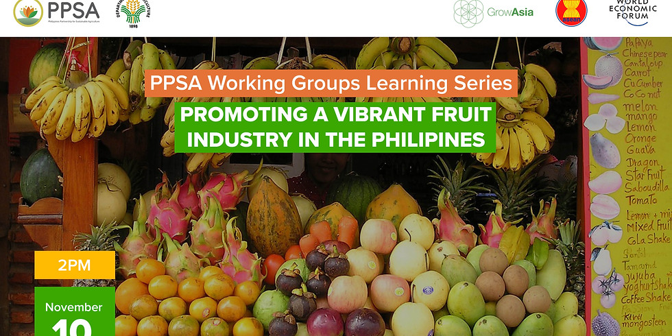 Promoting a Vibrant Fruit Industry in the Philippines