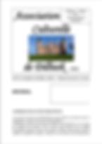 bulletin_acd_07-03-2020_n99 - L'Association culturelle de Dilbeek (ACD) a pour objet d'organiser, d'encourager et de promouvoir toute activité culturelle en langue française, auprès des habitants francophones de la commune de Dilbeek et plus largement à l'intention de tous les francophones d'autres communes de la périphérie bruxelloise. -