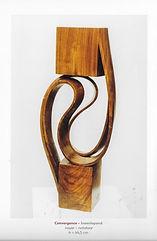 Jean Albert Convergence (noyer - h = 44,5 cm)
