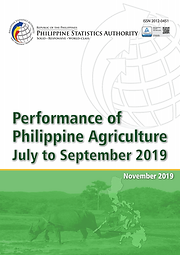 Performance of Philippine Agriculture 2019 Q3
