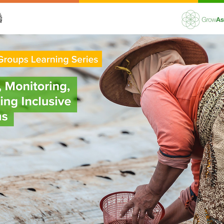 Developing, Monitoring, and Evaluating Inclusive Value Chains