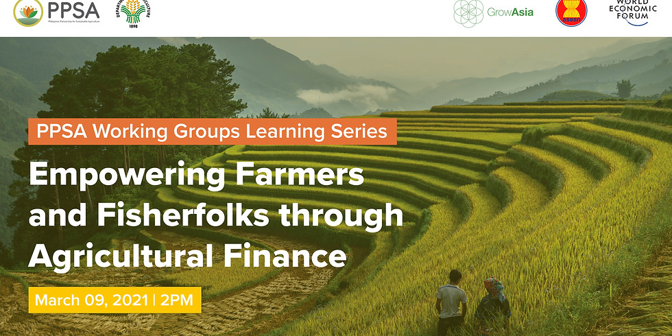 Empowering Farmers and Fisherfolks through Agricultural Financing