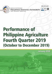 Performance of Philippine Agriculture 2019 Q4