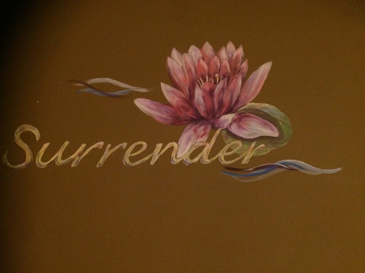 Mural work and lettering