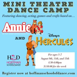 Mini Theatre Camp