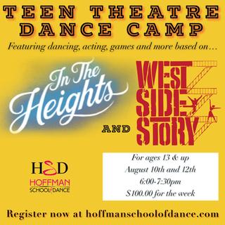 Teen Theatre Camp