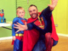 An award winning superhero parties. Our Children's entertainers cover Sussex, Surrey and London!