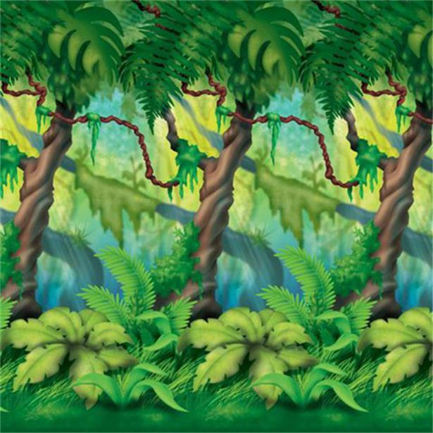 Jungle room roll scene setter