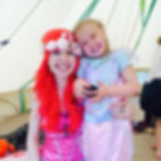 Mermaid party underwater adventure! Perfect for a children's birthday party in Sussex, Surrey or London!
