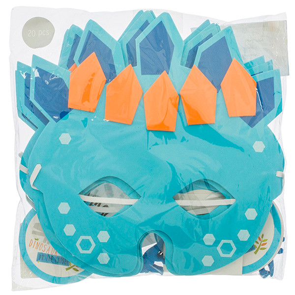 Dinosaur masks Dinosaur Party blog