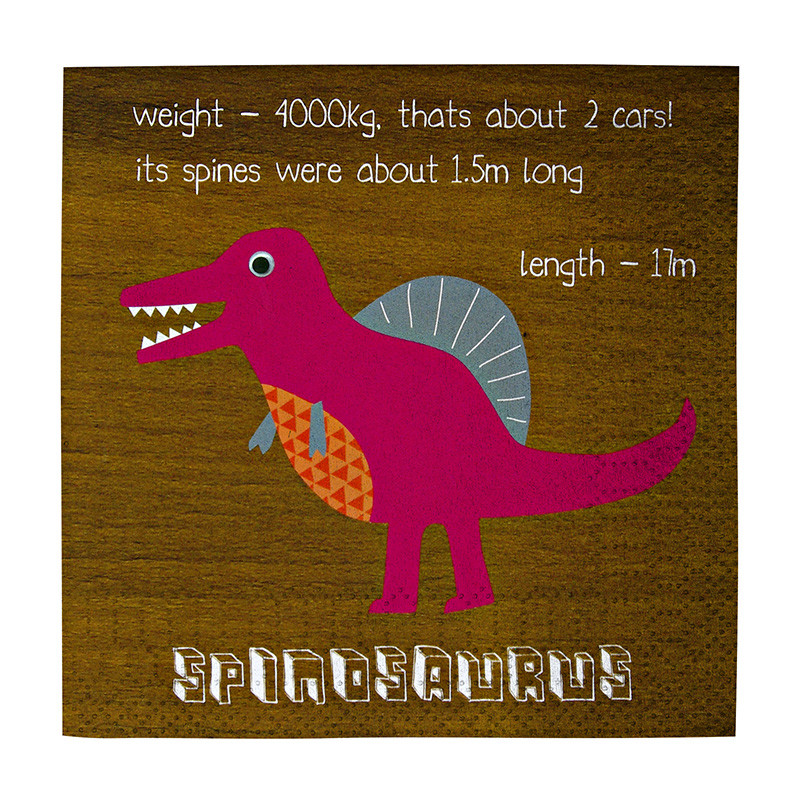 Dinosaur Napkins Dinosaur Party blog
