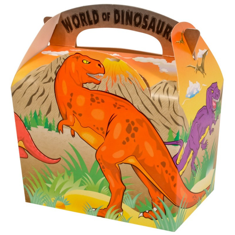 Dinosaur Food Boxes Dinosaur party blog