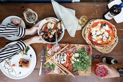 Locanda Amalfi Pleasanton pizza, antipasti, cocktails and wine.