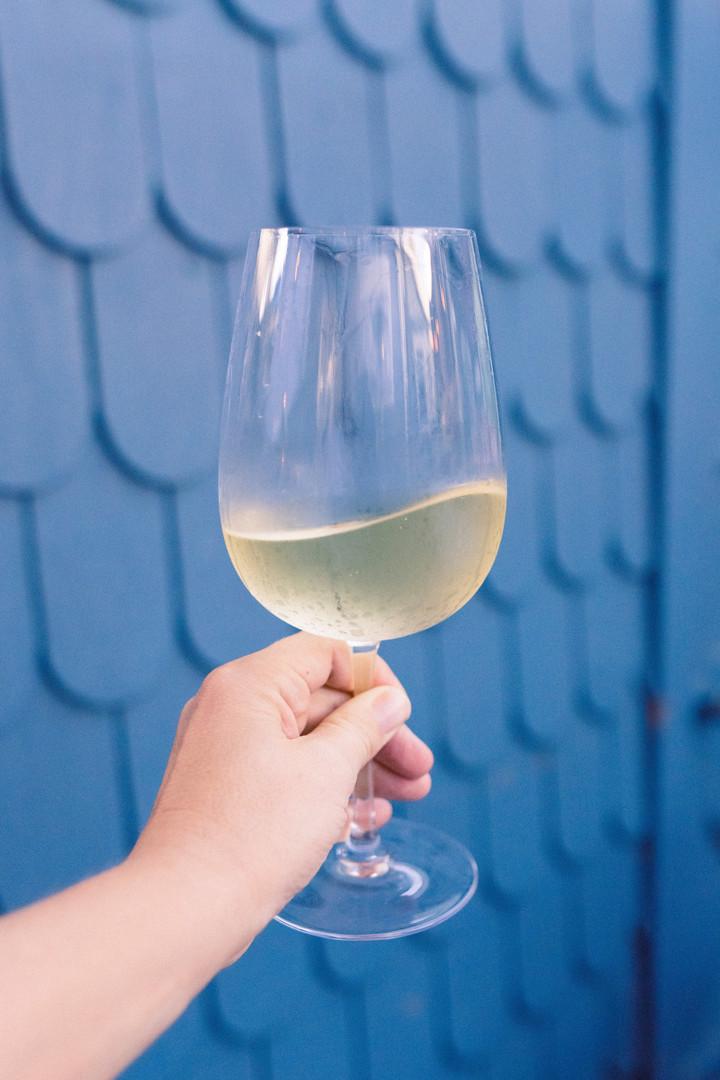 Cheers to white wine
