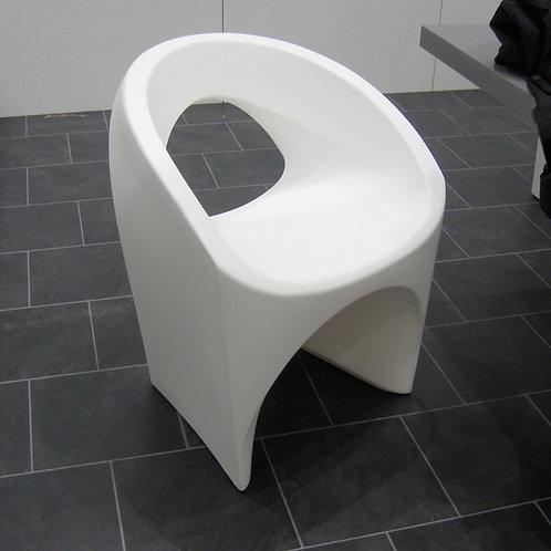 Sessel « Jet » Kunststoff weiss