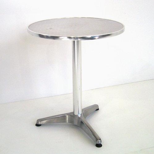 (Miete) Bistro-Tisch «Alu» ø 60cm