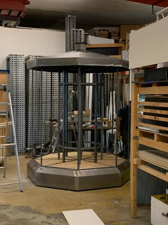 Stahlblech Konstruktion