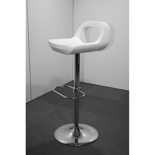 Barsessel «Spot», Sitzfläche Kunststoff weiss