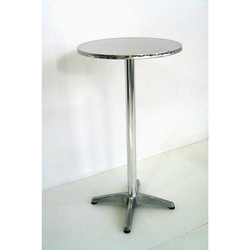 (Miete) Stehbar-Tisch «Alu» Ø 60cm