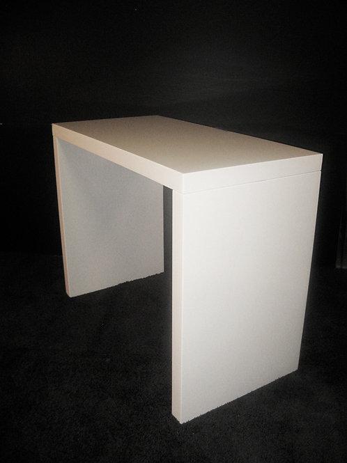 (Miete) Steh-Tisch Hochglanz 140 x 70 x 110 cm