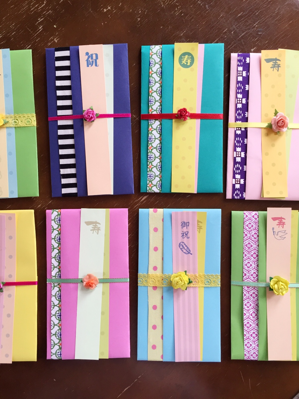 Japanese gift-money bags