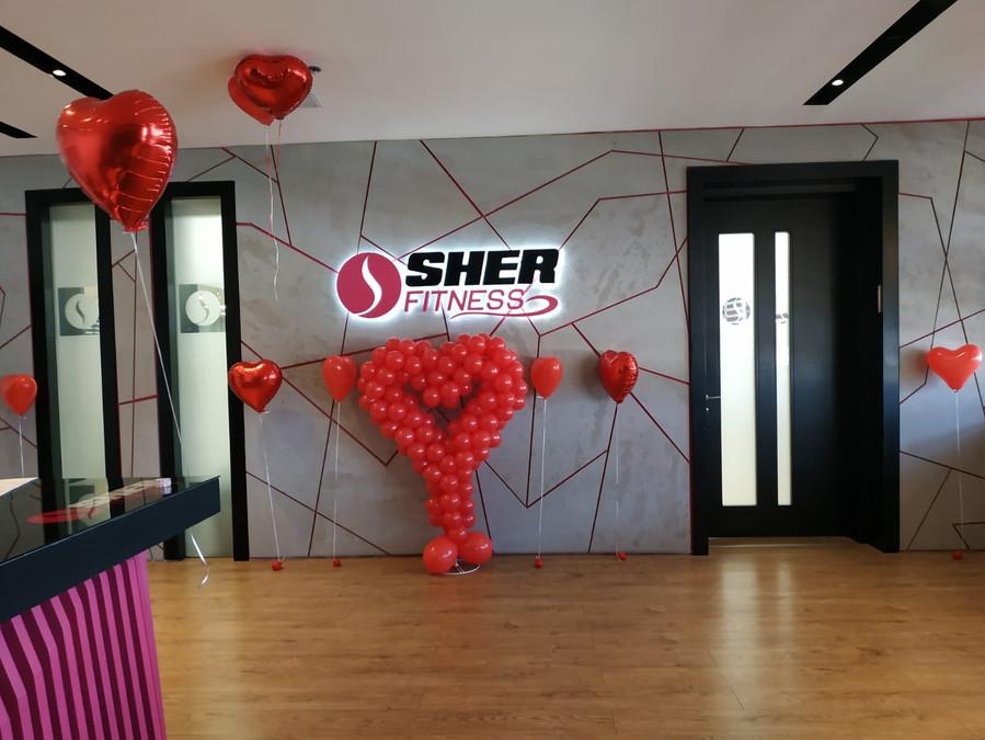 בלונים ליום אהבה sher