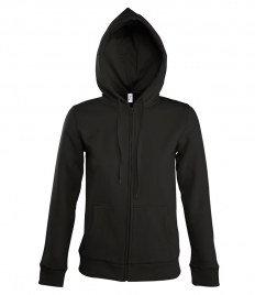 SOL'S Ladies Seven Zip Hooded Sweatshirt
