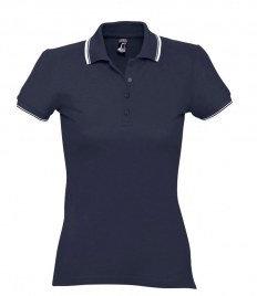 SOL'S Ladies Practice Tipped Cotton Piqué Polo Shirt