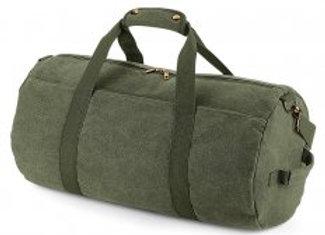 BagBase Vintage Canvas Barrel Bag