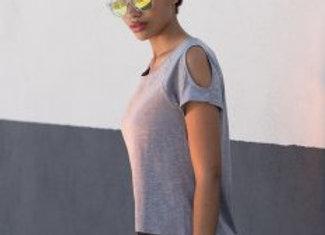 SF Ladies Drop Tail T-Shirt