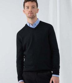 Henbury Acrylic V Neck Sweater