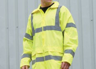 Portwest Hi-Vis Rain Jacket