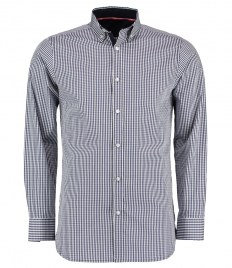 Clayton and Ford Gingham Long Sleeve Tailored Shirt