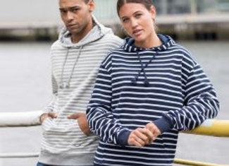 AWDis Nautical Striped Hoodie