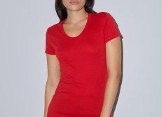 American Apparel Ladies Poly/Cotton T-Shirt