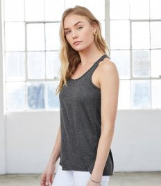 Bella Ladies Flowy Racer Back Tank Top