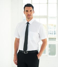 Brook Taverner Rosello Short Sleeve Poplin Shirt
