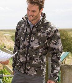 Result Urban Camo TX Performance Soft Shell Jacket