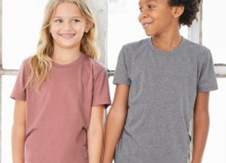Canvas Youths Tri-Blend T-Shirt
