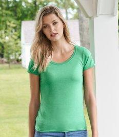Gildan Ladies SoftStyle® Deep Scoop T-Shirt