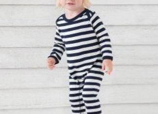 BabyBugz Baby Stripy Rompersuit