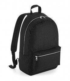 BagBase Metallic Zip Backpack