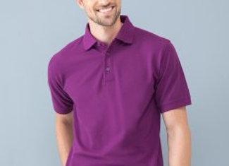 Henbury Heavy Poly/Cotton Piqué Polo Shirt