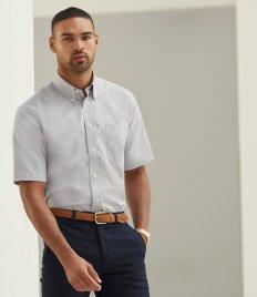 Fruit of the Loom Short Sleeve Oxford Shirt