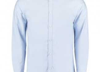 Clayton and Ford Long Sleeve Contrast Tailored Oxford Shirt